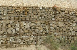 Welded Gabion Cage Retaining Gabion Wall / Gabion Cage