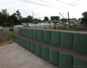 Gabion Box in Military/ Hesco Bastion/ Welded Gabion Box
