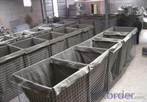 Galvanized Welded Bastion Military Basket