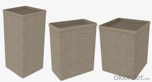 Gabion Box in Military/ Hesco Bastion/ Welded Gabion Box