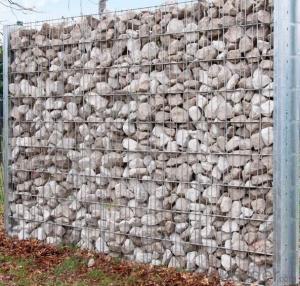 Welded Gabion Cage Retaining Gabion Wall / Gabion Cage