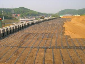 Warp-knitting Geogrids for Road Construction