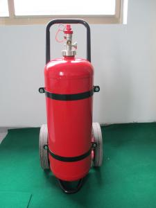 Cart Type Fire Extinguisher Dry Powder Wheeled Fire Extinguishers