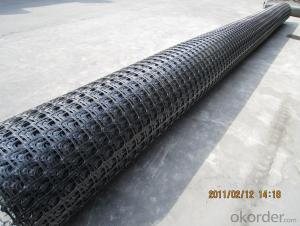 Asphalt Reinforcement Fiberglass Geogrid Made in China