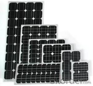CNBM Poly 170W Solar Panel with TUV UL CE Certificate For Residential