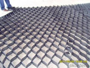 Slope Reinforcement HDPE Geocell Used in Road Construction