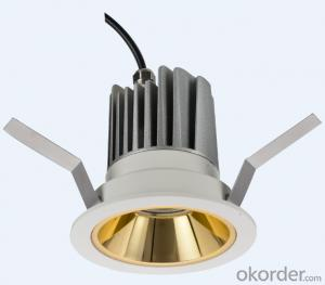 LED Down Light Module with easy-replacable accessories to meet different lumen demand