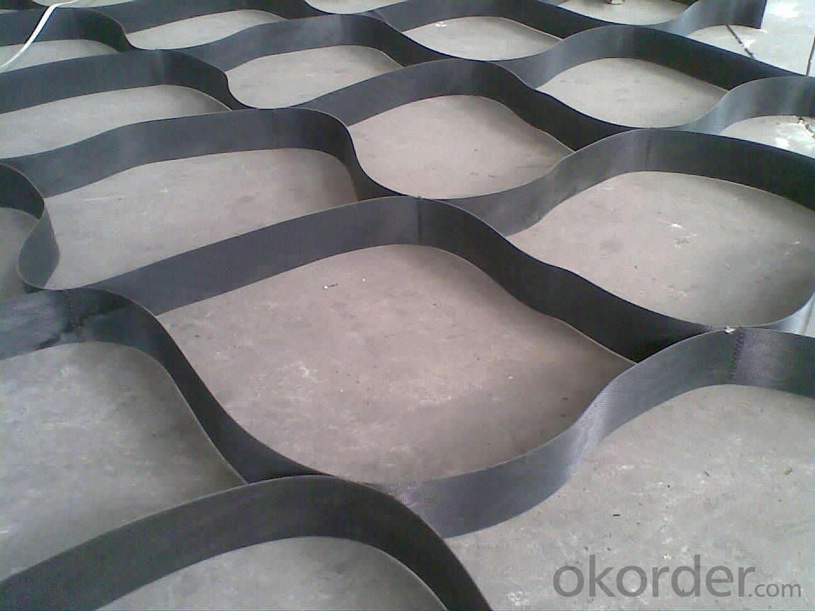 Textured and Perforated HDPE / PP plastic Geocell