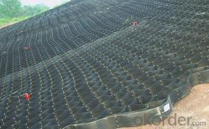 China Smooth And Textured Perforated HDPE Geocell, Cellular confinement system