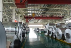Color Coated Aluminum Coil with 0.018 to 0.50mm ( PE / PVDF )