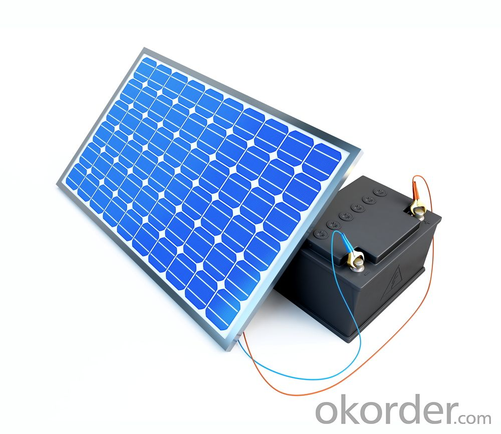 Waterproof Solar Panel With Indoor Led Bulb 80W