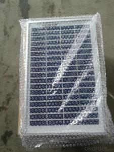 CE and TUV Approved High Efficiency 5W Mono Solar Panel