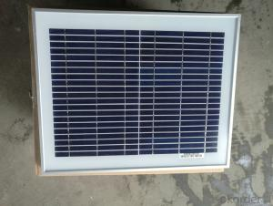 CE and TUV Approved High Efficiency 10W Mono Solar Panel