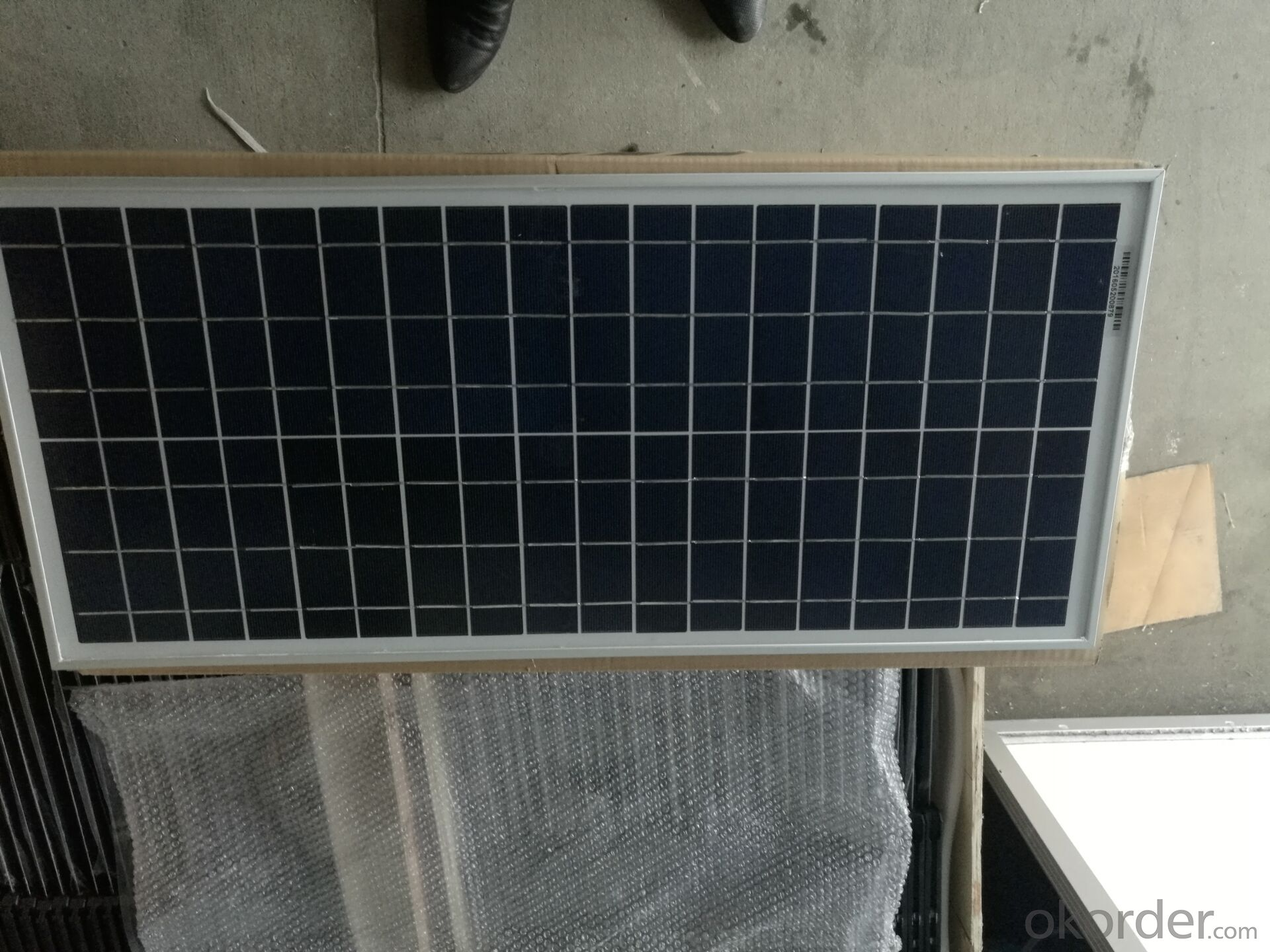 CE and TUV Approved High Efficiency 20W Mono Solar Panel