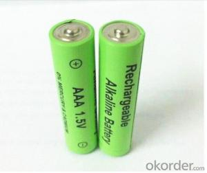 1.5V Rechargeable alkaline battery AAA LR03