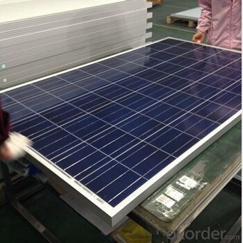 CE and TUV Approved High Efficiency 100W Poly Solar Panel