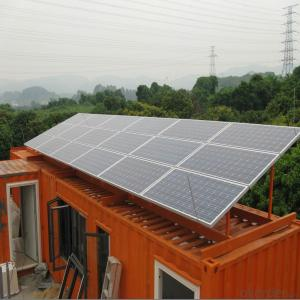 CE and TUV Approved High Efficiency 60W Mono Solar Panel