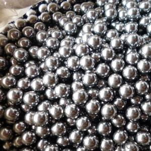 Stainless Steel Ball/Steel Shot Made in China/Chinese Manufacture