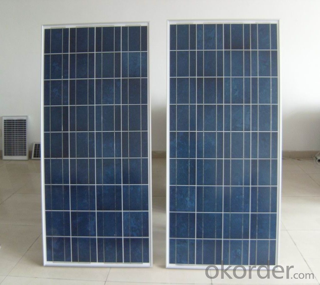CE and TUV Approved High Efficiency 150W Mono Solar Panel