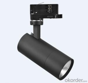 12W LED Track Light of clear & Mini design with different installation ways