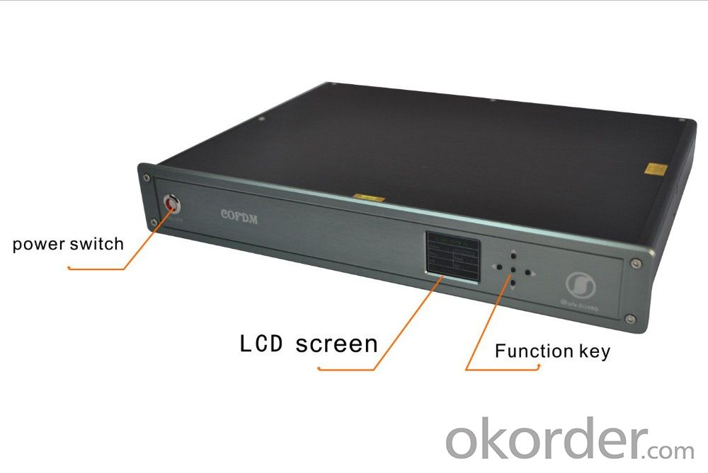 Wireless Video Receiver Cofdm HD Encrypted 1080P