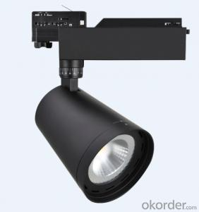 LED Track Light with various accessories 3800lm elegant design suitable for stores