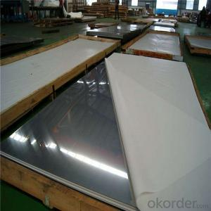 304 316 316l Stainless Steel Sheet 2B fininsh
