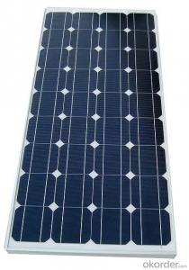 Monocrystalline Solar Panel Certificated with High Effect Solar Cell
