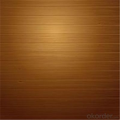 Wood Pattern Printed Galvanized PPGI Steel Sheet