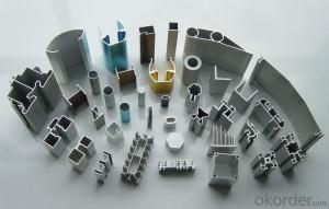 Alloy 6063 Aluminium Extrusion Profiles For Industrial Application