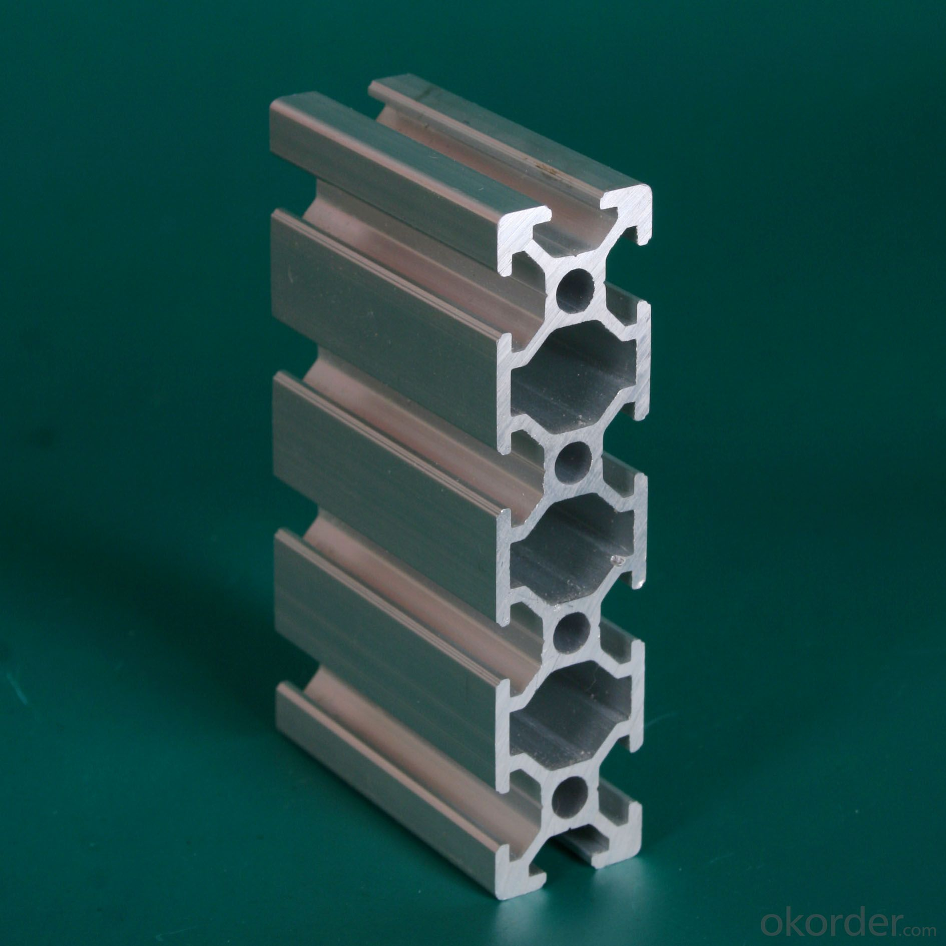 Alloy 6005 Aluminium Extrusion Profiles For Industrial Application