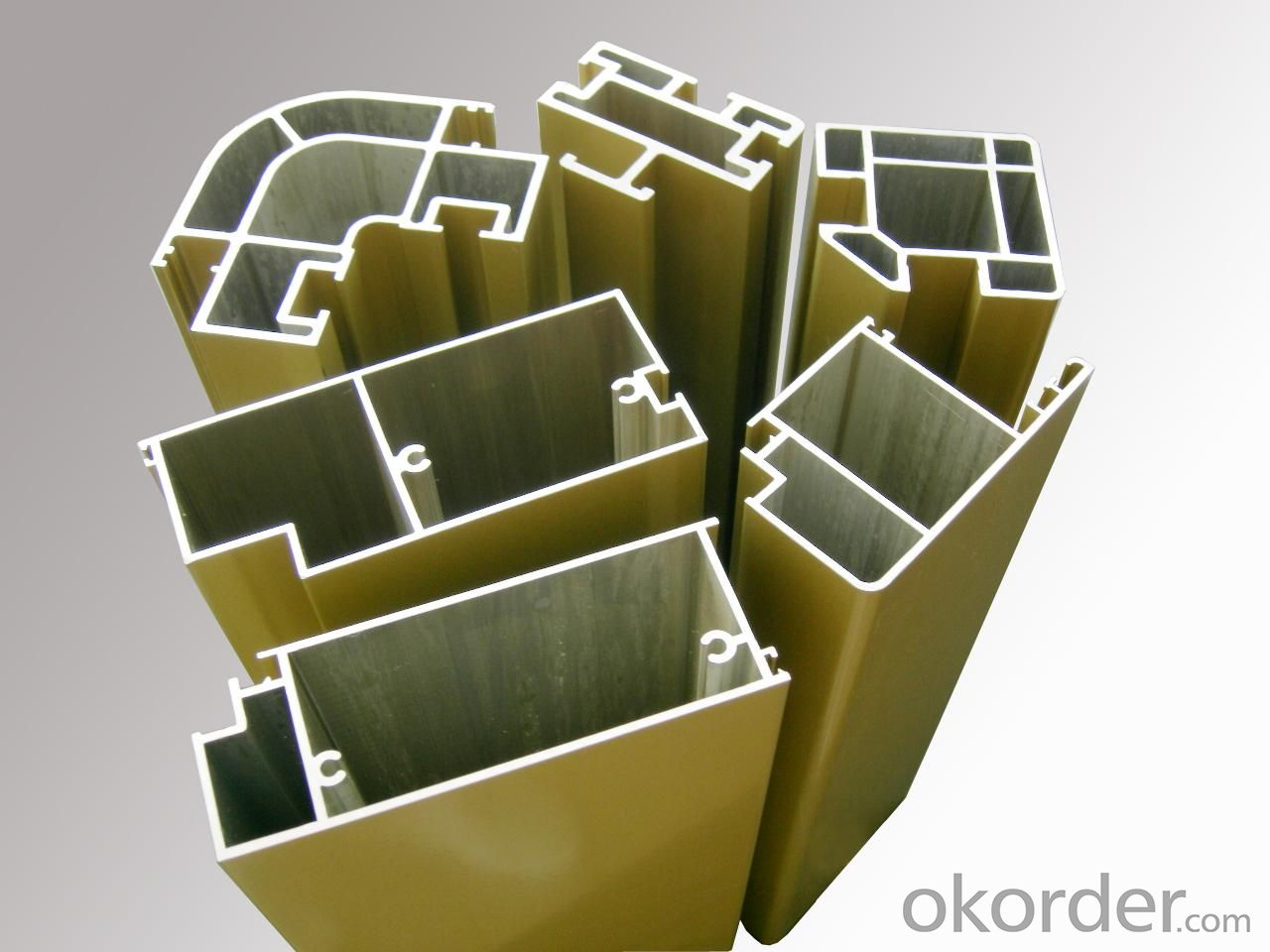 Alloy 6060 Aluminium Extrusion Profiles For Industrial Application