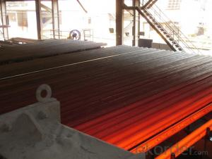 Prime quality prepainted galvanized steel 670mm