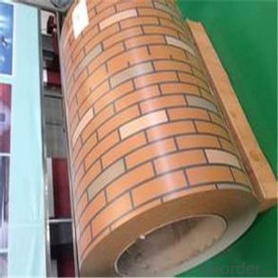 Wood Pattern Printing Color PPGI Steel Coils