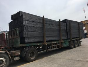 Welded square tube for building structure