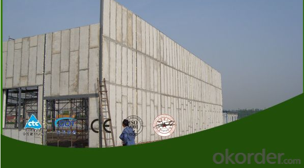 calcium silicate board --- Exterior Wall Panels
