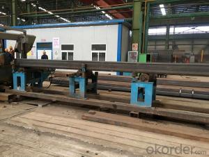 Welding square rectangular pipe for construction