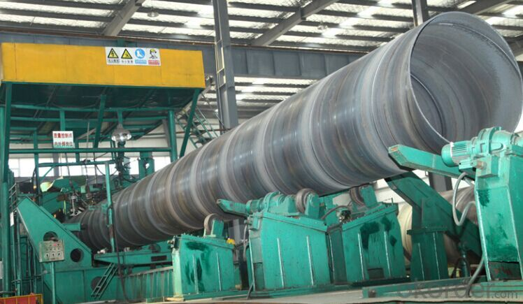 SSAW Steel Pipe  Made in China for  building
