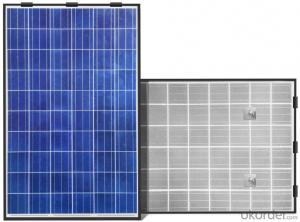 Polycrystalline 270-310W Solar Panel System with 17.6% and Above Efficiency