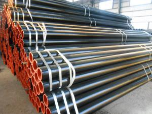 Seamless steel tubes for medium and low pressure fluids