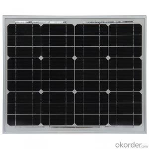 200W Monocrystaline Solar Module Solar Power System