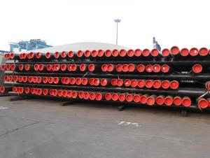 Seamless steel pipe for oil transportation
