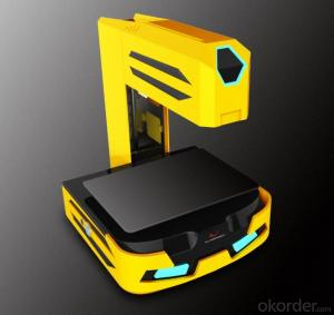 Foldable Wifi Desktop 3D Printer for Household Use