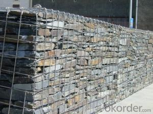 Galvanized Steel Wire Gabion Baskets in High Quality