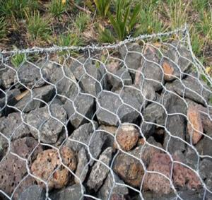 Gabion Box PVC Coated Hot Dipped Gavalnized Zinc