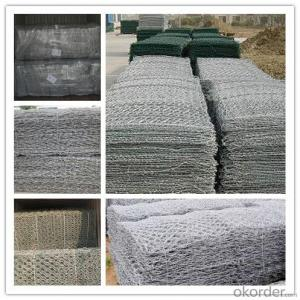 PVC Coated/ Galvanized Gabion Cages/ Gabion Box