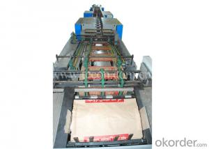 High Speed Paper Bag Making Machine with Flexo Printing