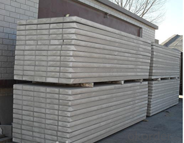 Exterior Wall Paneling with EPS, Cement and Calcium Silicate Board