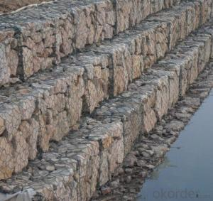 Hot Dipped Galvanized Gabion Box in High Quality