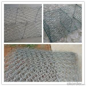 Galvanized Gabion Box for Civil Engineering 2mx1mx1m